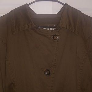 Live a Little Jackets & Coats - Live a Little olive jacket 1x new